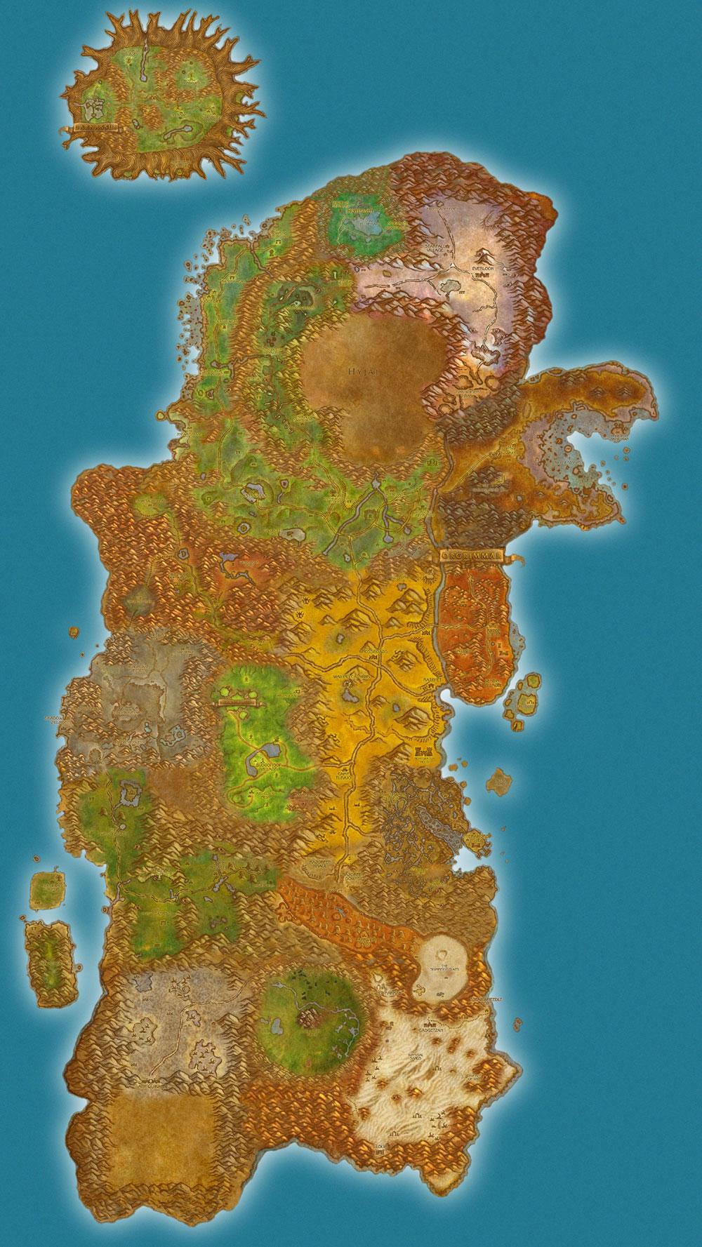 Obshaya Karta Mira V Wow Na Baza Dannyh Warcraft 3 Wow Dota Allstars