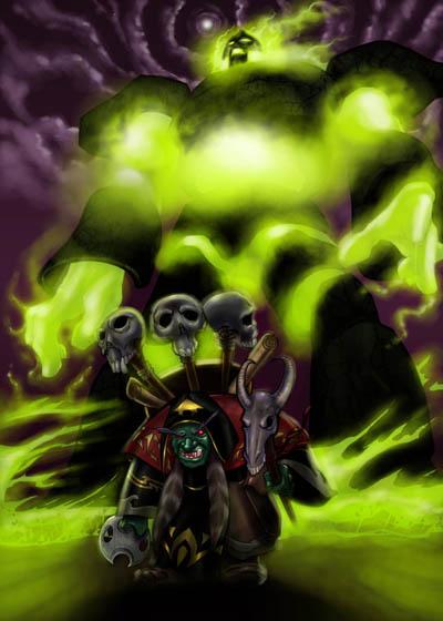 Demnok Lannik - Warlock