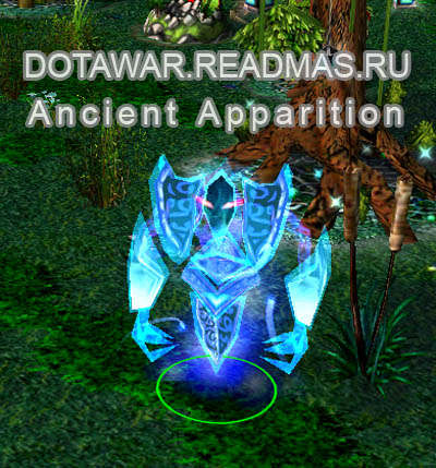Dota герой Ancient Apparition - Dotawar.Readmas.ru