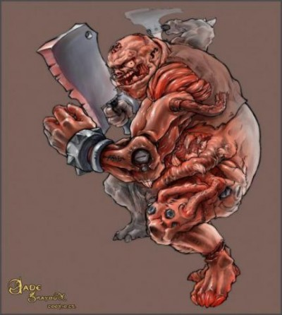 Dota Allstars - Pudge - Butcher