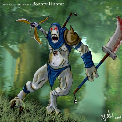 Dota Allstars - Gondar - Bounty Hunter