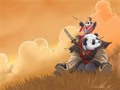 Dota Allstars - Panda vs Baby