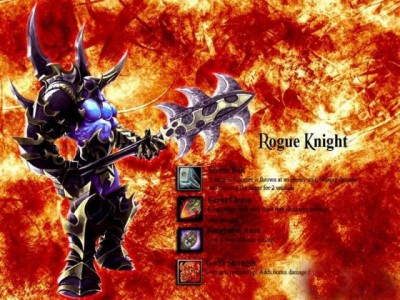 Dota Allstars - Rogue Knight in Fire