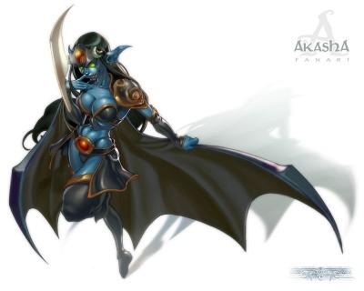 Dota Allstars - Akasha