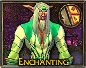 World of Warcraft - Профессия  Профессия Наложение чар (Enchanting)