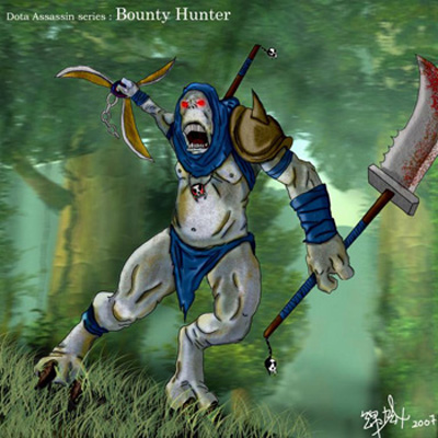 Gondar - Bounty Hunter DotA Allstars