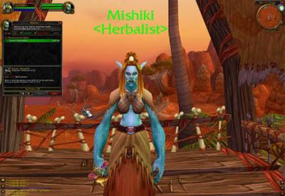 WoW: Профессия Травничество (Herbalism) 3