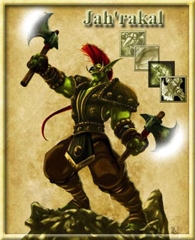Jah'rakal - Troll Warlord DotA Allstars