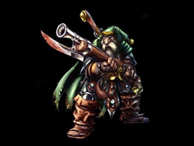 Kardel Sharpeye - Dwarven Sniper DotA Allstars