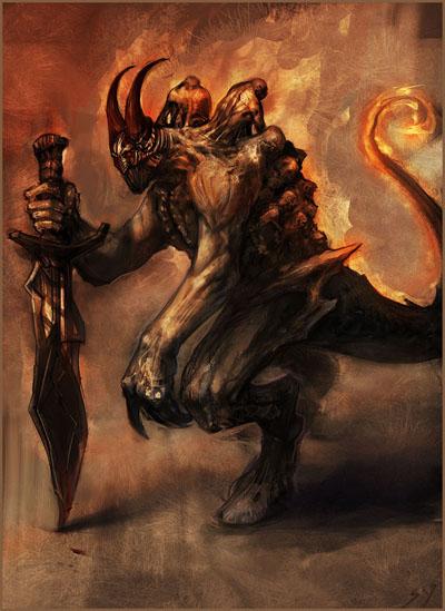 Lucifer - Doom Bringer Dota Allstars