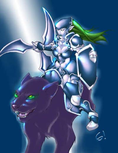 Luna Moonfang - Moon Rider DotA Allstars