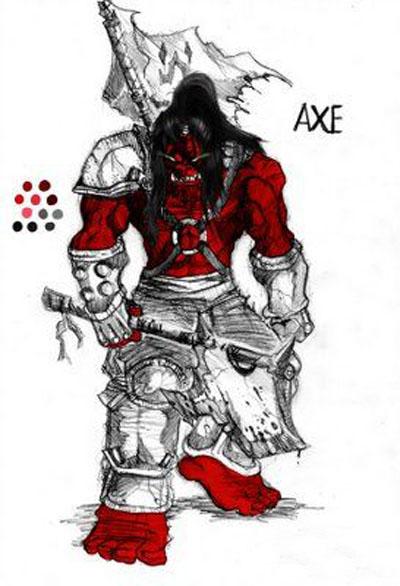 Mogul Kahn - Axe