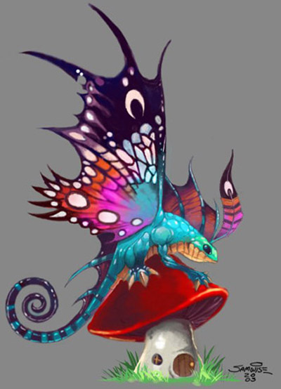 Puck - Faerie Dragon DotA Allstars
