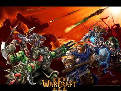 Раш людьми или орками Warcraft