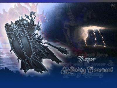 Razor - Lightning Revenant Dota Allstars