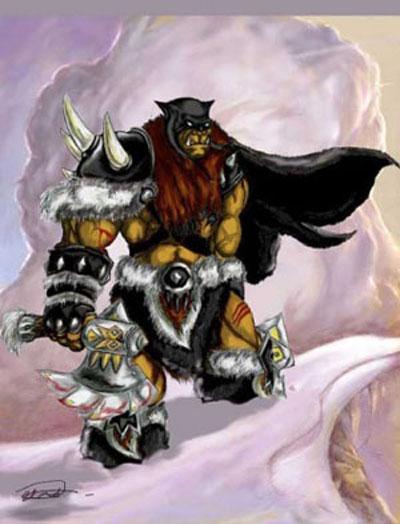 Rexxar - Beastmaster DotA Allstars