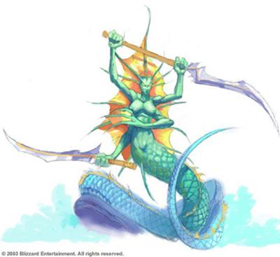 Slithice - Naga Siren DotA Allstars