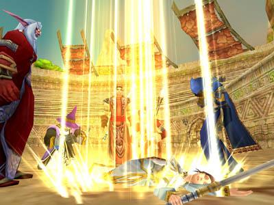 Смерть в игре WoW, World of Warcraft