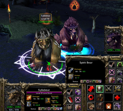 Syllabear - Lone Druid DotA Allstars