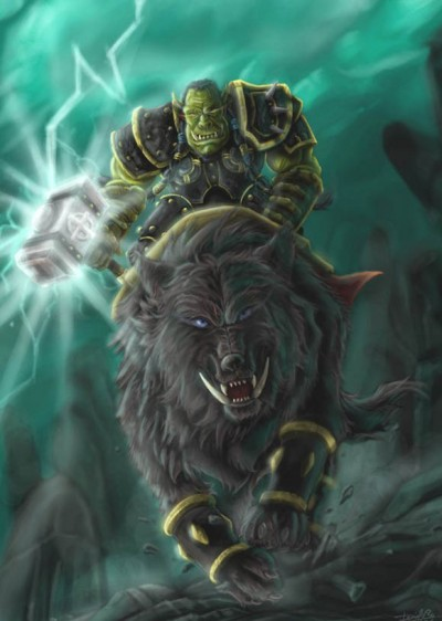 Обои - Трал - Warcraft