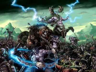 Warcraft 3 - Битва Эльфов и Нежити