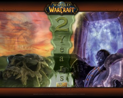 World of Warcraft - 2 Года