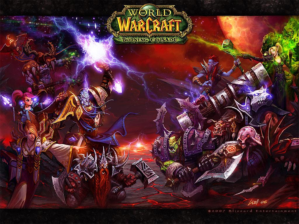 World of warcraft альянс vs нежить
