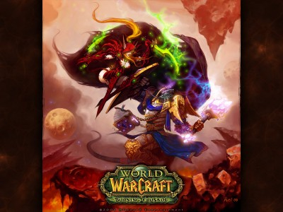World of Warcraft - Паладин против Дагера