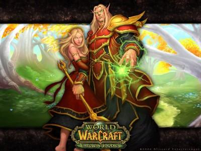 World of Warcraft - Кровавые Эльфы - Пара