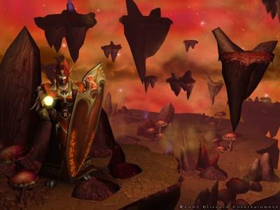 World of Warcraft - Вид из Игры - Страж