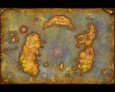 World of Warcraft - Карта Мира