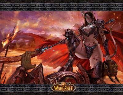 World of Warcraft - Draenei Женщина Воин