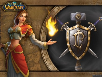 World of Warcraft - Огненная Магичка