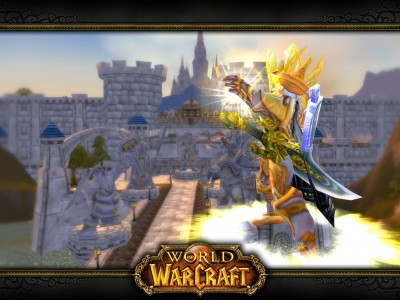 Обои World of Warcraft, WoW - Паладин