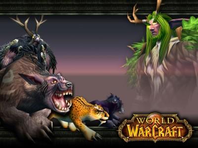 Обои WoW, World of Warcraft - Ночной Эльф