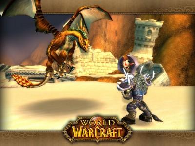 Картинка - Таурен vs Дракон - WoW
