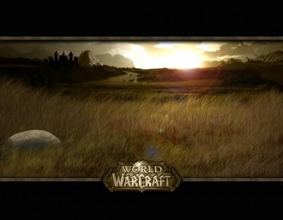 World of Warcraft - Закат - Обои