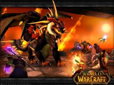 Картинка Пати Орда против Дракона - WoW
