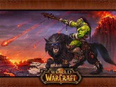World of Warcraft - Орк Наездник - Картинка