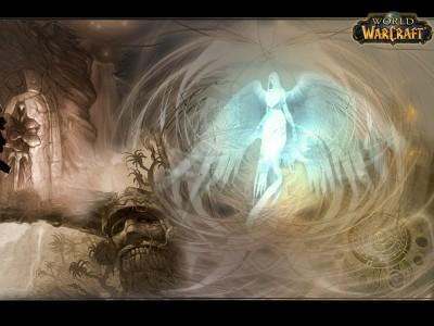 World of Warcraft - Обои - Spirit Healerом