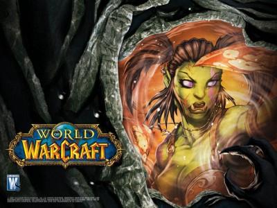Картинка - Девушка Орк - World of Warcraft