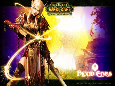 Обои -  Blood Elves - WoW